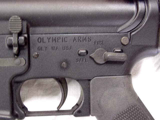 View 3~OLYMPIC ARMS RIFLE, MULTI 2013 CALIBUR