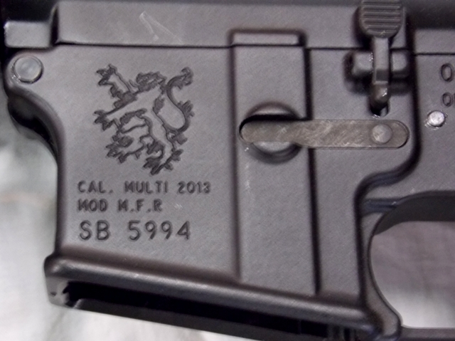View 4~OLYMPIC ARMS RIFLE, MULTI 2013 CALIBUR