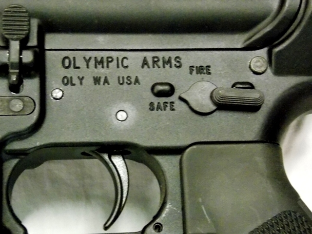 View 5~OLYMPIC ARMS RIFLE, MULTI 2013 CALIBUR