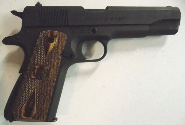 View 2~SPRINGFIELD ARMORY .45 CAL PISTOL