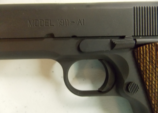 View 4~SPRINGFIELD ARMORY .45 CAL PISTOL