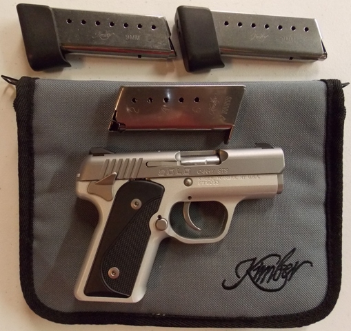 KIMBER SOLO 9mm Pistol. Model Carry STS