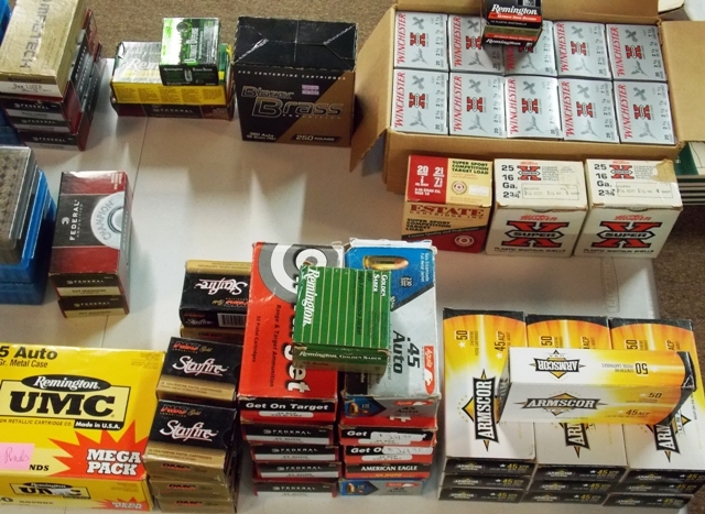 View 2~ APPROXIMATELY 5,000 ROUNDS OF AMMUNITION