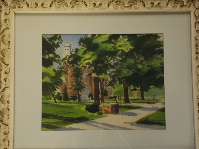 #2~ WATERCOLOR BY PAUL ANDREWS, PUBLIC STRUCTURES