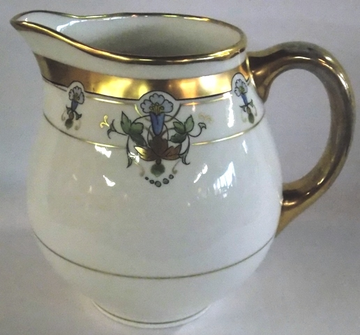 """PICARD 7"""" HANDPAINTED PITCHER"""