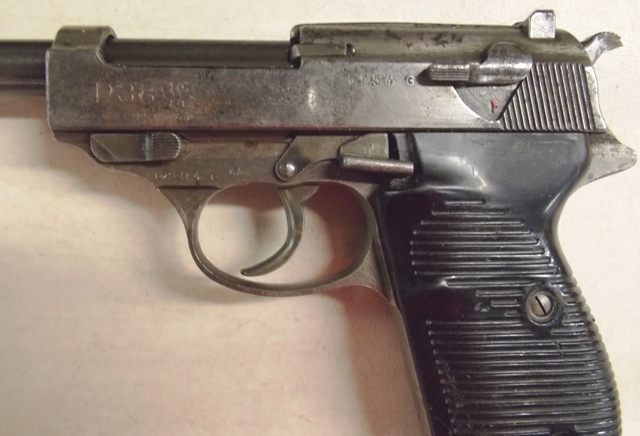 #2~WALTHER P38, 9 MM NAZI PISTOL & HOLSTER-228/16