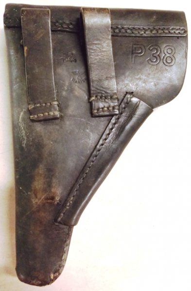 #6~WALTHER P38, 9 MM NAZI PISTOL & HOLSTER-228/16