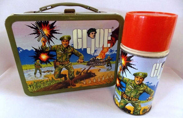 GI JO LUNCH BOX & THERMOS