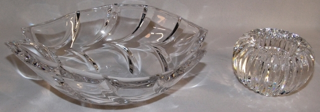 WATERFORD VOTIVE + MARQUIS SMALL BOWL