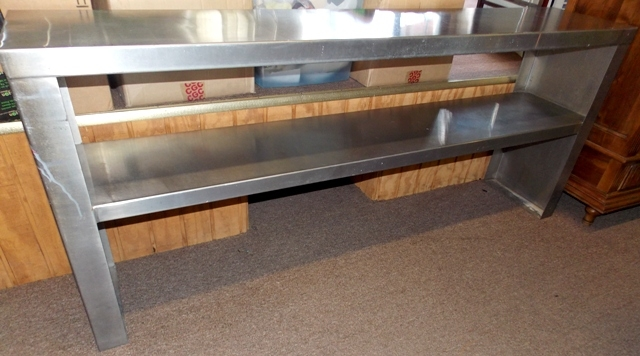 "40""x70-1/2"" STAINLESS TABLE"
