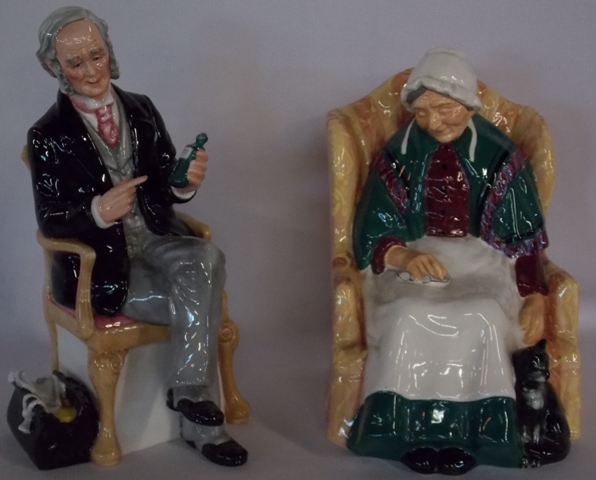ROYAL DOULTON~The Doctor & Forty Winks