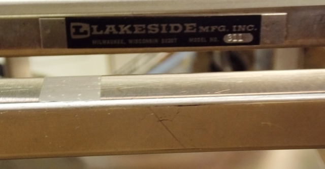 VIEW 2~STAINLESS LAKESIDE 3-SHELF MEDICAL CART