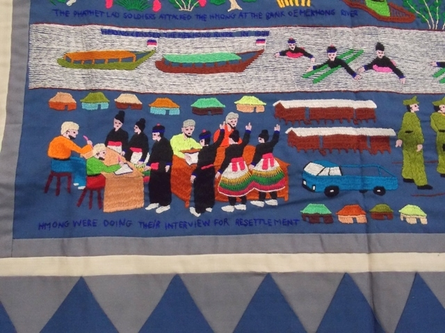 VIEW 2~HMONG (Vietnames) STORY CLOTH
