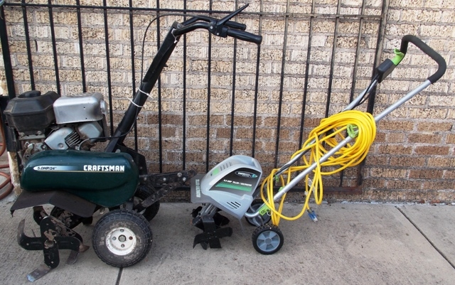 CRAFTSMAN & EARTH WISE TILLERS/CULTIVATORS
