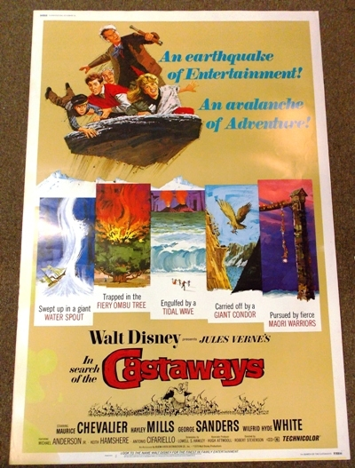 MOVIE POSTER~In Search of the Castaways