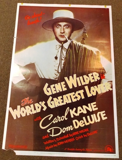 MOVIE POSTER~ The World's Greatest Lover