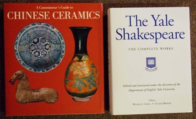 """""""THE YALE SHAKESPEAR-COMPLETE WORKS"""" & """"A CONNOISSEUR'S..."""