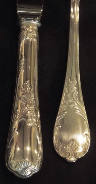 VIEW 2~CHRISTOFLE-MARLY STERLING FLATWARE