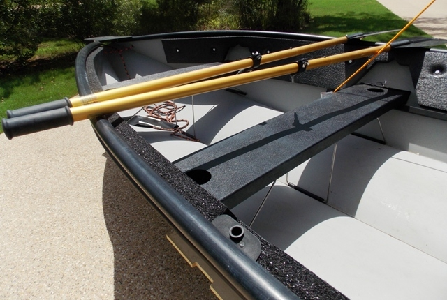 VIEW 2~PORTA-BOTE 14' WITH TROWLING MOTOR & TRAILER