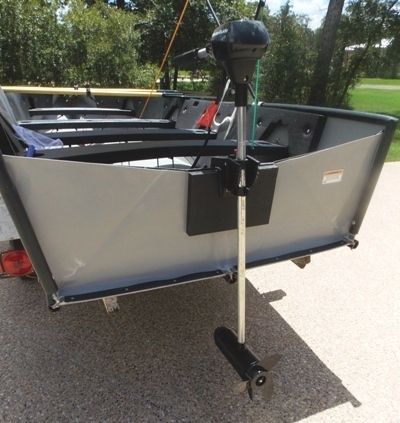 VIEW 4~PORTA-BOTE 14' WITH TROWLING MOTOR & TRAILER