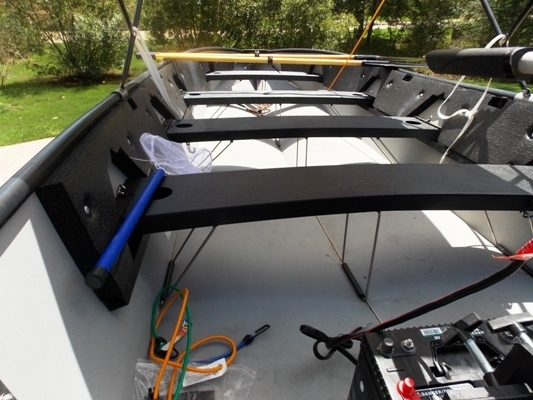 VIEW 5~PORTA-BOTE 14' WITH TROWLING MOTOR & TRAILER