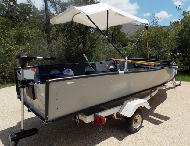 VIEW 6~PORTA-BOTE 14' WITH TROWLING MOTOR & TRAILER