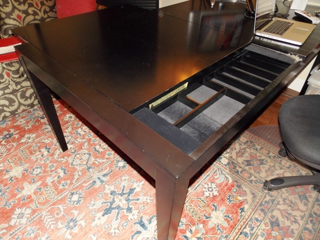 """View 2~42""""X78"""" DINING TABLE with Sliding Top For..."""