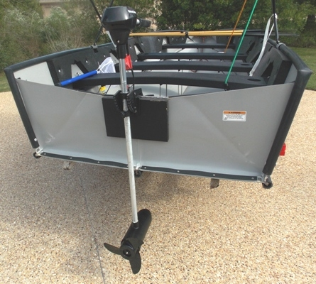 VIEW 8~PORTA-BOTE 14' WITH TROWLING MOTOR & TRAILER