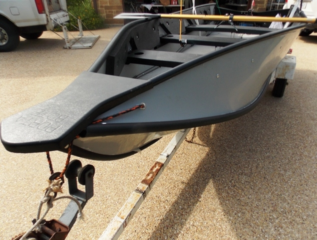 VIEW 9~PORTA-BOTE 14' WITH TROWLING MOTOR & TRAILER