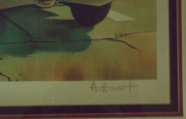 """VIEW 3~""""DETECTIVE"""" SIGNED & NUMBERED AUTHOUART LITHO"""