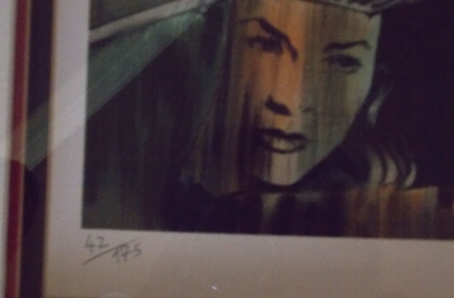 """VIEW 4~""""DETECTIVE"""" SIGNED & NUMBERED AUTHOUART LITHO"""