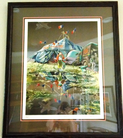 """""""CIRQUE PEPITO"""" SIGNED & NUMBERED AUTHOUART LITHO"""