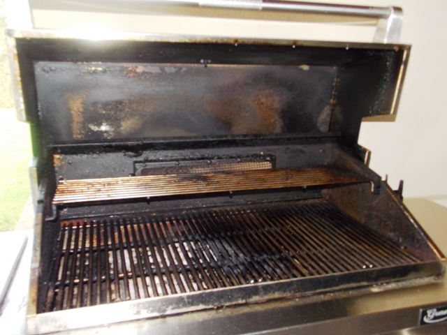 View 3~Grand Turbo by Barbequeres Galore Stainless Grill