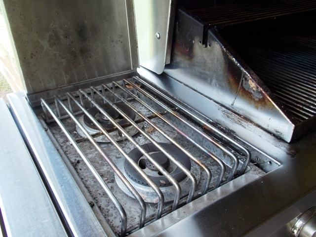 View 4~Grand Turbo by Barbequeres Galore Stainless Grill