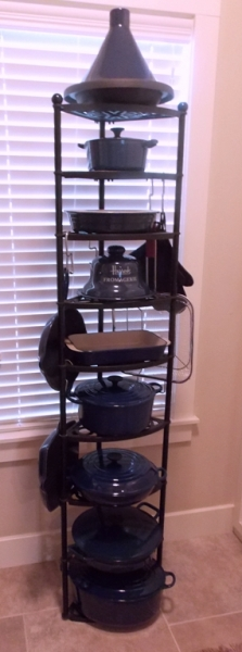 TRIPOD 9-TIER COOKWARE STAND