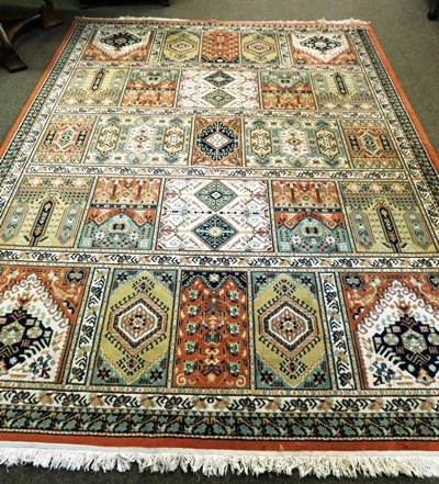 PERSIAN STYLE PATCHWORK 8x11' RUG