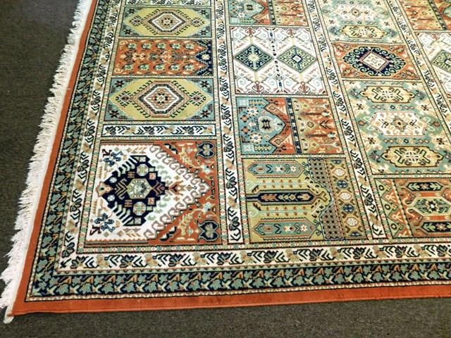 View 3~PERSIAN STYLE PATCHWORK 8x11' RUG