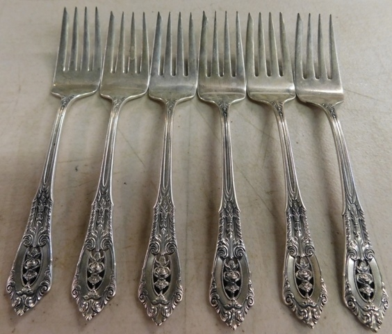 "ROSEPOINT BY WALLACE,6~ 6-1/2"" SALAD FORKS"
