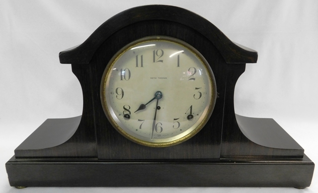 SETH THOMAS MANTEL CLOCK, T&S