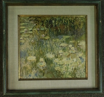 """Les Nympheas"" FRAMED PRINT BY MONET"