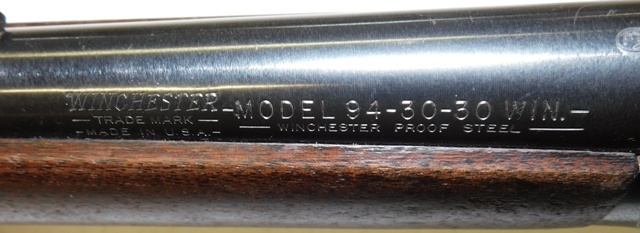 View 3~ WINCHESTER, MODEL 94, 30-30 CAL RIFLE
