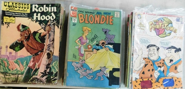2 OF 4 BOXES COLLECTOR COMIC BOOKS