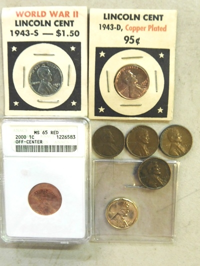GROUP~ 2000 ERROR, 2~ 1943, + 5 MORE DIMES