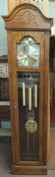 RIDGEWAY GRANDFATHER CLOCK, WESTMINISTER CHIMES