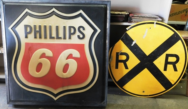 "PHILLIPS 66 ~ 36"" RR CROSSING SIGNS"