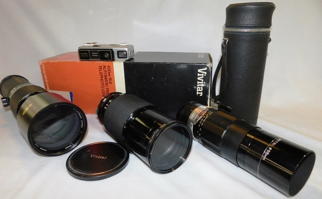 VIVITARS & PETRI CAMERA LENSES