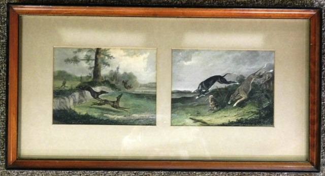 TWO LITHOS in One Frame -(Hounds Chasing the Hare)