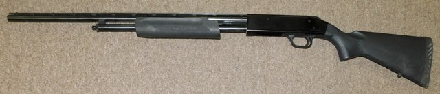 MOSSBERG, MODEL 500E SHOTGUN, 410 GA, PUMP ACTION