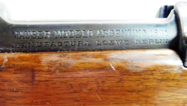 View 3~MAUSER MODELO-ARGENTINE RIFLE, 1892 MODEL