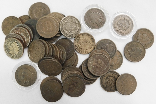 COLLECTION INDIAN HEAD PENNIES